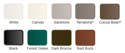 Exterior Awning Window Colors